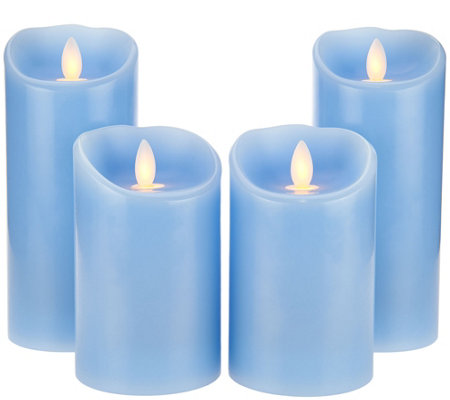 "(2) 5"" and (2) 7"" Mirage Candles by Candle Impressions"