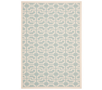 "Safavieh 4' x 5'7"" Abstract Indoor/Outdoor Rug - H283061"
