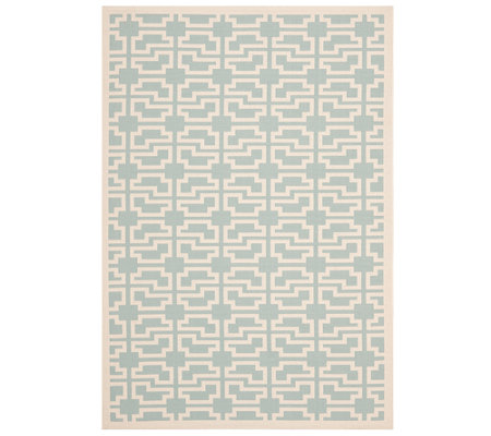 "Safavieh 4' x 5'7"" Abstract Indoor/Outdoor Rug"