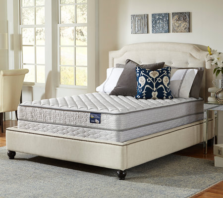 Serta Glisten Firm Twin Mattress Set