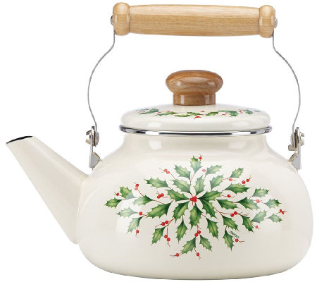 Lenox Holiday Tea Kettle