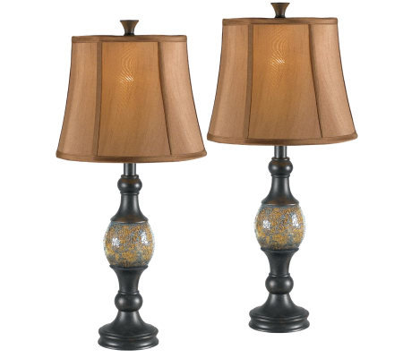 Kenroy Home Shay Set of 2 Table Lamps