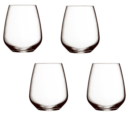 Luigi Bormioli 23.25-oz Crescendo Stemless WineGlasses - S/4