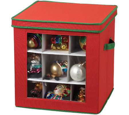 Household Essentials 27-Piece Holiday OrnamentCube