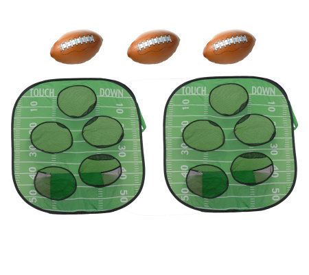 Portable Football Target Toss Game
