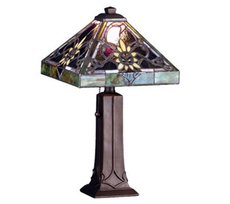 "Tiffany Style 18""H Solstice Accent Lamp"