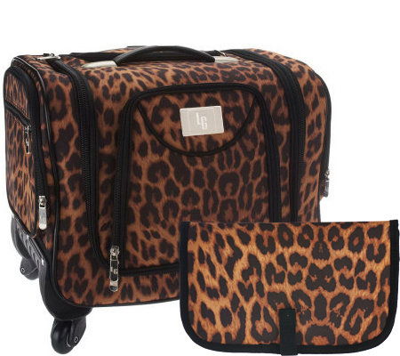 Weekender Bag with Snap-In Toiletry Case by Lori Greiner