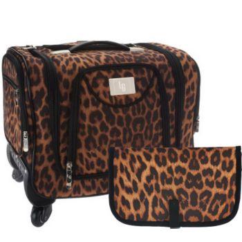 Weekender Bag with Snap-In Toiletry Case by Lori Greiner