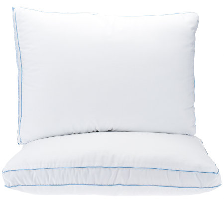 PedicSolutions Set of 2 Supreme Memory Loft Standard Pillows