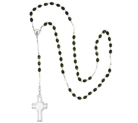 Waterford and Connemara Marble Rosary