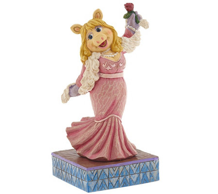 """As Is"" Jim Shore The Muppets Miss Piggy Figurine"