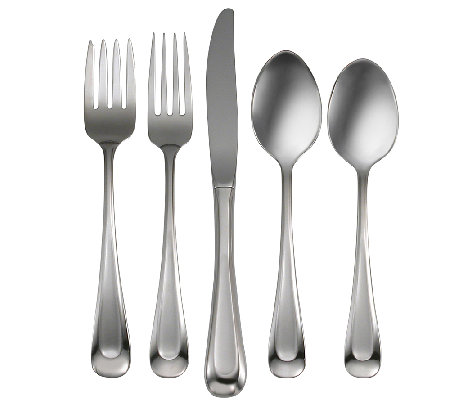 Oneida Satin Sand Dune 20-Pc Flatware Set