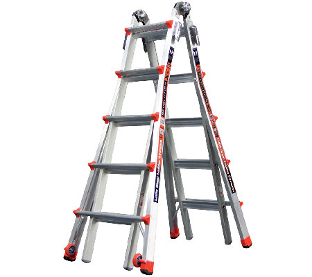 Little Giant Revolution 24-in-1 Heavy Duty 22'Ladder