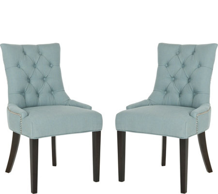 Abby Set of 2 Side Chairs by Valerie