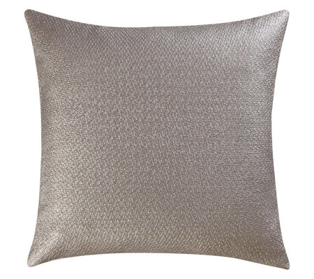 Vince Camuto Lille Metallic Print Woven SquarePillow