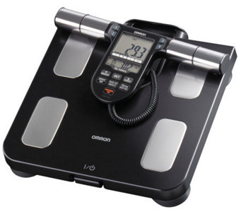 Omron Healthcare Full-Body Sensor Scale with 180-Day Memory - H349962
