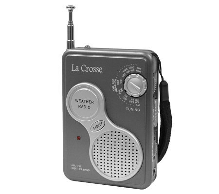 La Crosse Technology 809-905 AM/FM Handheld Weather Radio