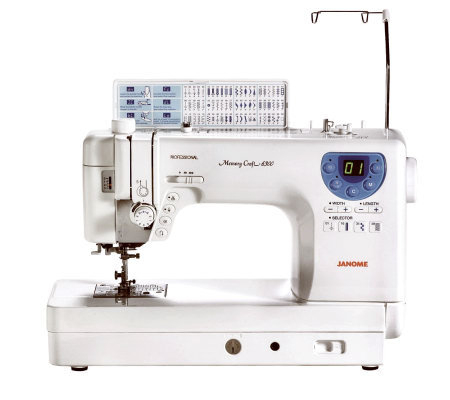 Janome MC-6300P Heavy-Duty Computerized Quilting & Sewing