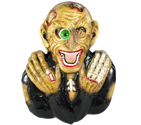 Battery Operated Ghoul Light & Sound Shaking Ground Breakers
