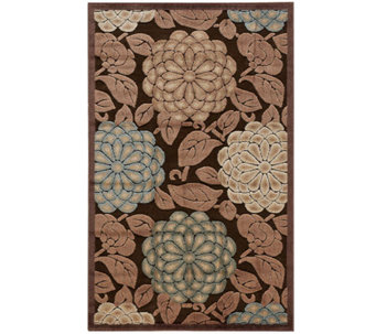 "Nourison Reflections 3'6""x5'6"" William Morris Machine Made Rug - H366862"