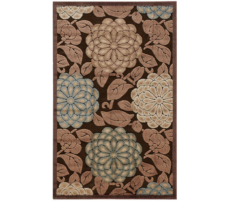 "Nourison Reflections 3'6""x5'6"" William Morris Machine Made Rug"