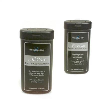24 Jewelry Care Disposable Cleaning Wipes by Lori Greiner ...