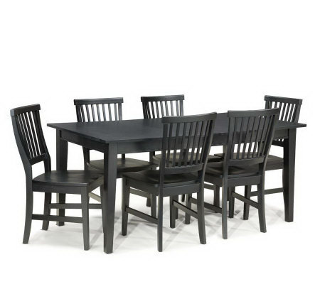Home Styles Arts and Crafts 7- Piece Dining Set