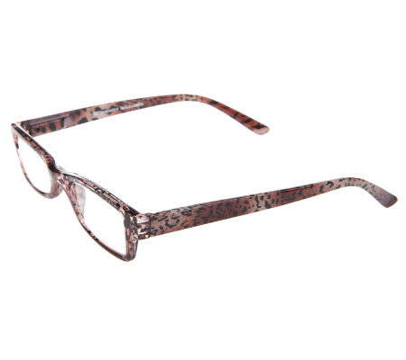 Wendy Williams Rectangular Leopard Reader