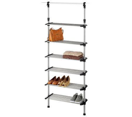 Whitmor Closet 6-Shelf Shoe Rack System