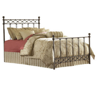 Fashion Bed Group Argyle Copper Chrome Full Bed - H281063