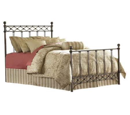 Fashion Bed Group Argyle Copper Chrome Full Bed