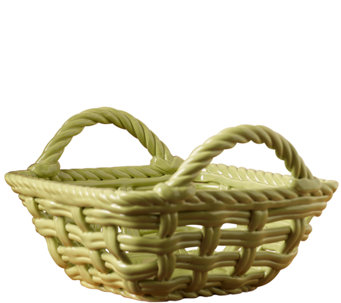"Tabletops Gallery 9"" x 5-5/8"" Square Basket - H283963"