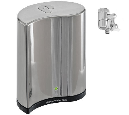 Pelican Premium Countertop Water Filtration System - Nickel