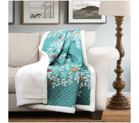 Newbold Sherpa Throw by Lush Decor