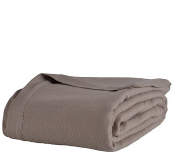Berkshire Blanket Lightweight Knit Cotton FullBlanket - H287963
