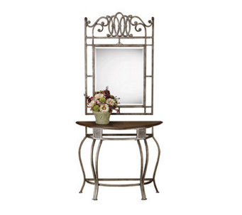 Hillsdale House Montello Console Table and Mirror - H122964