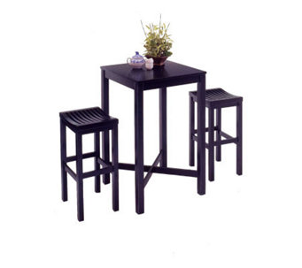 Home Styles Bar Stool - Black Finish - H131564