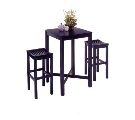 Home Styles Bar Stool - Black Finish