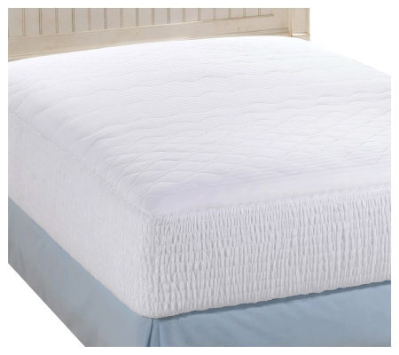 simmons back care five zone california king mattress pad page 1. Black Bedroom Furniture Sets. Home Design Ideas