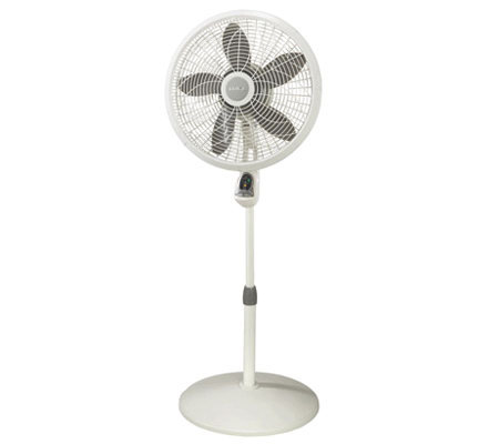 "Lasko 1850 18"" Pedestal Fan with Remote Control"