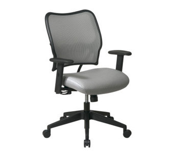 Office Star Gray Deluxe Chair with VeraFlex - H154964