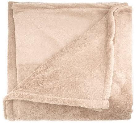 Berkshire Blanket Full/Queen Size Serasoft Blanket - Page 1 — QVC.com