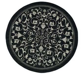 "Safavieh Courtyard Heirloom Gate 5'3"" Round Rug - H178964"