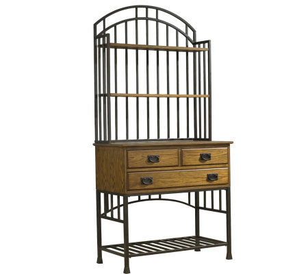 Home Styles Oak Hill Baker's Rack