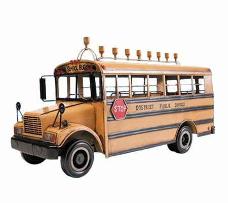 Copa Judaica School Bus Menorah