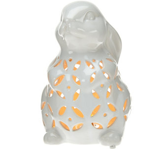 Plug-In Illuminated Ceramic Animal by Valerie - H207464