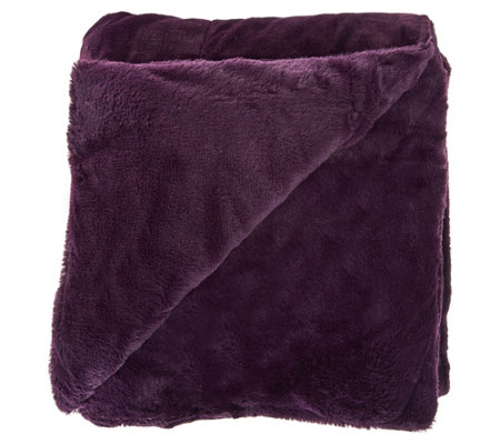 "Berkshire Cozy 55""x70"" Primalush/Plush Fur Polyester Filled Throw"