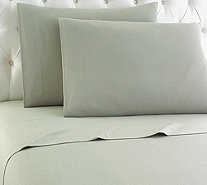 Shavel Micro Flannel Solid Color QueenSheet Set - H290464