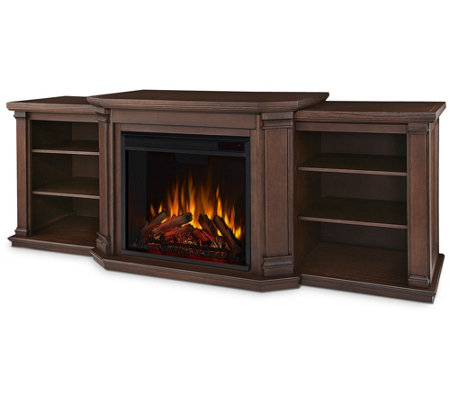 Real Flame Valmont Electric Entertainment Center