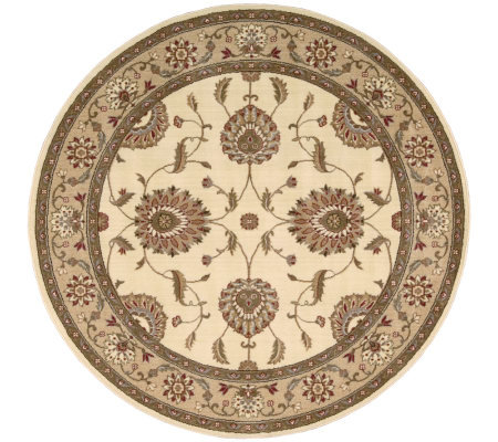 "Nourison Atlas 5'6"" Round Persian Machine-MadeRug"
